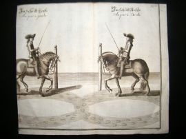 Cavendish Equestrian Dressage 1700 Antique Horse Print 32